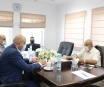The Chairman of Bethlehem Chamber of Commerce and Industry meets the Deputy Minister of the Ministry of Labor