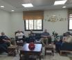 رئيس غرفة تجارة و صناعة محافظة بيت لحم و مدير الضابطة الجمركية في المحافظة يؤكدان على أهمية التعاون المشترك