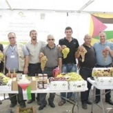 "BCCI and Al-Khader municipality conclude the ""The Grape Tent Market"" event"