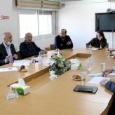 اجتماع بين غرفة تجارة وصناعة محافظة بيت لحم وغرفة كولون الحرفية الالمانية لمناقشة آليات تطوير مركز التدريب المهني والتقني