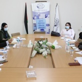 Bethlehem Chamber of Commerce and Industry held a cooperative meeting with the management of Cowater International