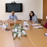 غرفة تجارة وصناعة محافظة بيت لحم تستقبل ممثلة GIZ ضمن مشروع مزيد من فرص العمل للشباب الفلسطيني
