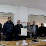 غرفة تجارة وصناعة محافظة بيت لحم تتبرع لجمعية زعترة التعامرة الخيرية