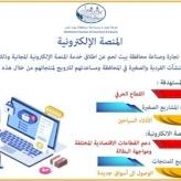 المنصة الإلكترونية