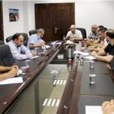 لقاء بين تجمع النقابات المهنية و غرفة تجارة و صناعة محافظة بيت لحم