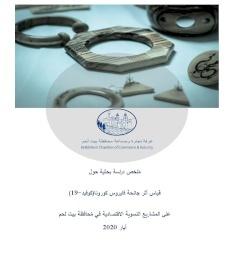 دراسة أثر تفشي فايروس كورونا على المشاريع النسوية في محافظة بيت لحم