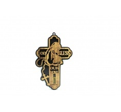 Cross With Oil and Rosary