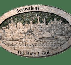 لوحة القدس بانوراما 3D