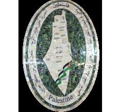 لوحة خارطة فلسطين