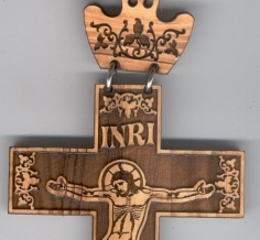 Orthodox cross with a crown