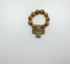 Finger Rosary-Carved
