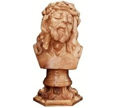 مجسم المسيح مع قاعدة حجم وسط