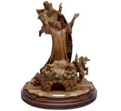 مجسم تضحية النبي ابراهيم بابنه اسحاق