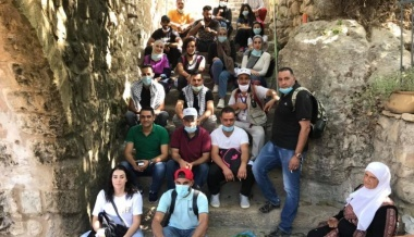BCCI economical youth council organizes an activity to Battir
