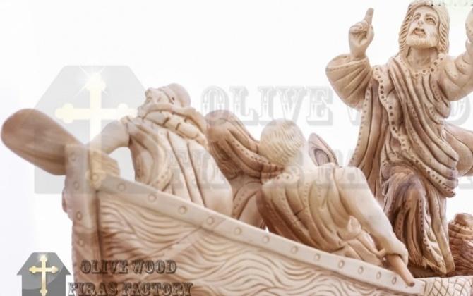 المسيح يهدئ العاصفة