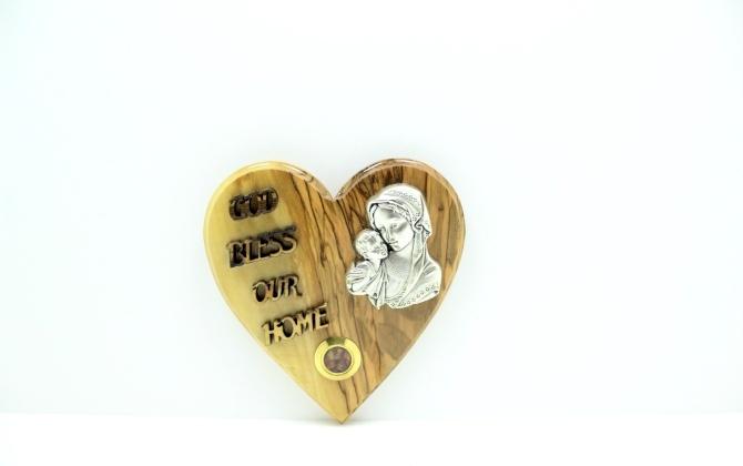لوحة قلب مع مغناطيس