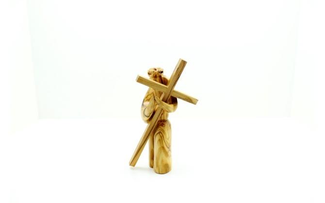 المسيح مع صليب