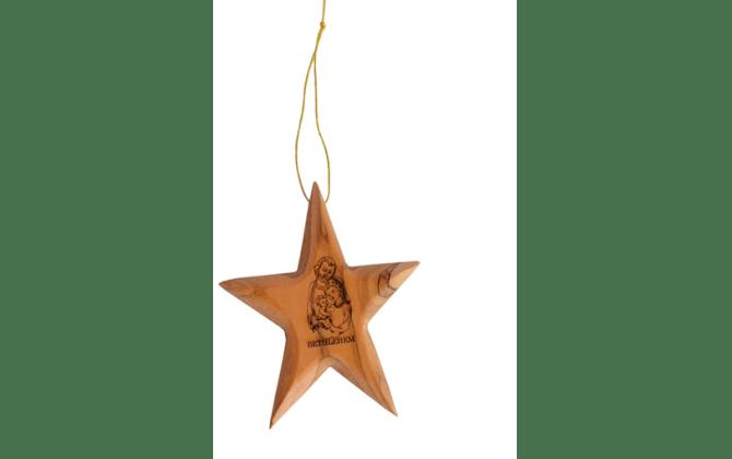 نجمة الميلاد تعليق لشجرة الميلاد