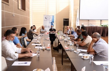 The Tourism Committee of Bethlehem Chamber of Commerce and Industry discusses issues of interest to the tourism sector