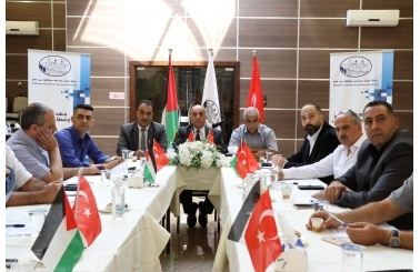 Bethlehem Chamber of Commerce and Industry and the Turkish Mersin Chamber of Commerce and Industry sign a memorandum of understanding