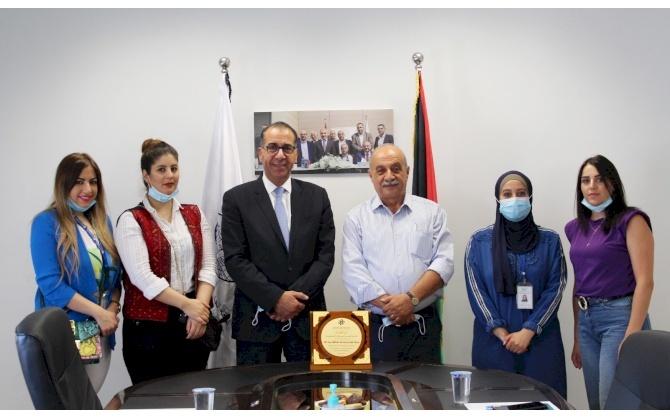 غرفة تجارة وصناعة محافظة بيت لحم تعقد لقاء مع المؤسسة المصرفية الفلسطينية