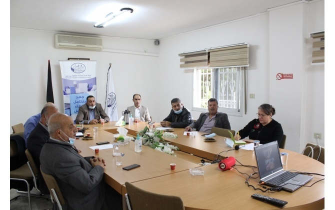 لجنة تجار المواد الغذائية و الاستهلاكية في غرفة تجارة وصناعة محافظة بيت لحم تستكمل عقد نشاطاتها