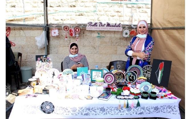 فعالية الايام التسويقية للزيت والزيتون والمنتجات النسوية 2020