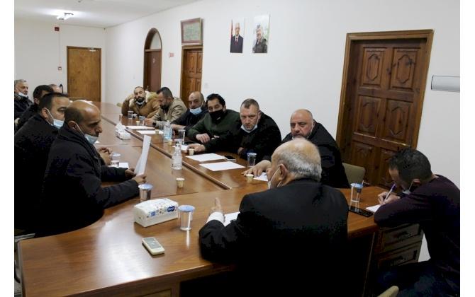 غرفة تجارة وصناعة محافظة بيت لحم تستكمل متابعة مطالب التجار مع الجهات ذات الاختصاص