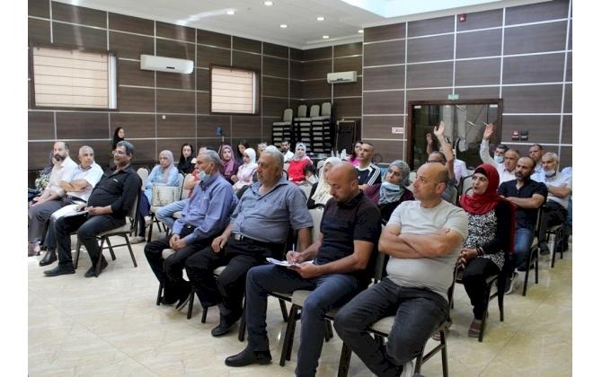 """غرفة تجارة وصناعة محافظة بيت لحم تعقد ورشة عمل بعنوان """"أهمية الأسماء والعلامات التجارية """""""