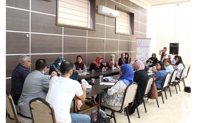 غرفة تجارة وصناعة محافظة بيت لحم و مؤسسة المواصفات و المقاييس تختتمان ورشة تدريبية