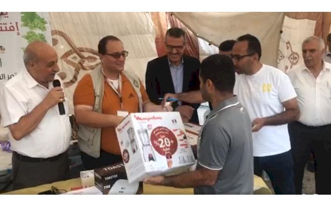 اختتام فعاليات سوق العنب الثالث ببيت لحم وحزبون يؤكد استمرار الجهود لمساعدة المزارعين لتسويق منتجاتهم بمحافظات اخرى